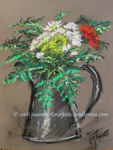 Bouquet aux fougères