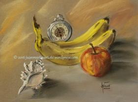 Fruits Conque et pendule