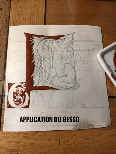 application gesso